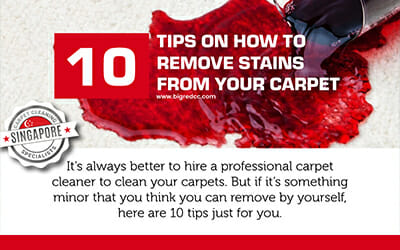 10 Tips on How to Remove Stains from Carpets