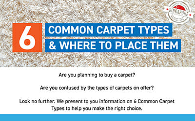 6 Common Carpet Types and Where to Place Them