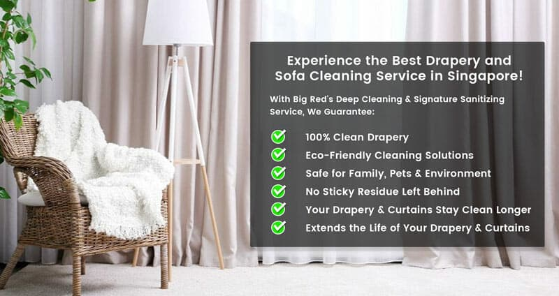 Affordable Drapery and Curtain Cleaning in Singapore