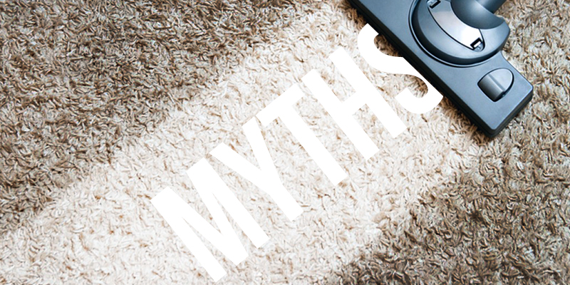 5 Myths About Carpet Cleaning - Busted!