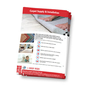 Carpet Supply Installation in Singapore Brochure