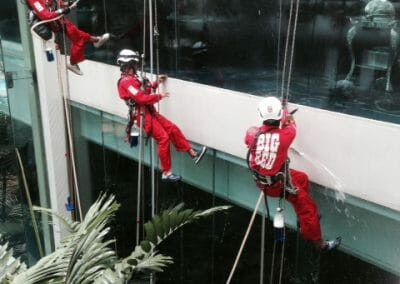 Facade Cleaning - Big Red Carpet Cleaners Singapore