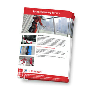 Facade Cleaning in Singapore Brochure