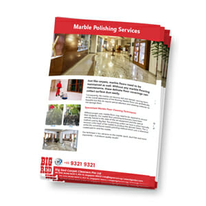 Marble Polishing Services in Singapore Brochure