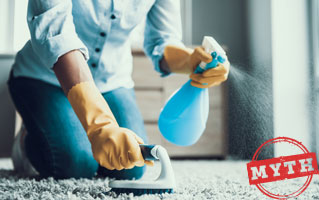 Common Carpet Cleaning Myths