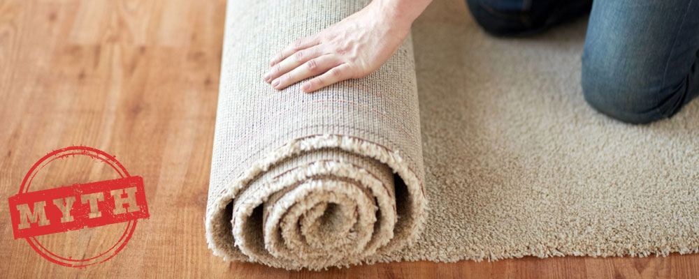 New Carpets Do Not Need Cleaning