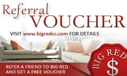 Big Red Carpet Cleaning Launches Referral Voucher