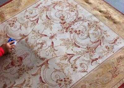 Oriental Persian Rug Cleaning - Big Red Carpet Cleaners, Singapore