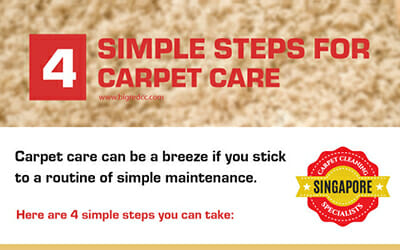 4 Simple Steps for Carpet Care