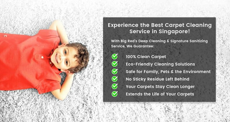 Experience the Best Singapore Carpet Cleaning Services - Big Red Carpet Cleaners