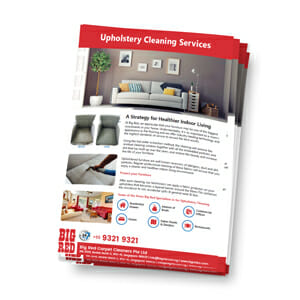 Upholstery Cleaning Services in Singapore Brochure